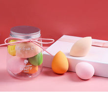 Load image into Gallery viewer, Super soft 5pcs beauty makeup egg  shape puff non-latex makeup puff