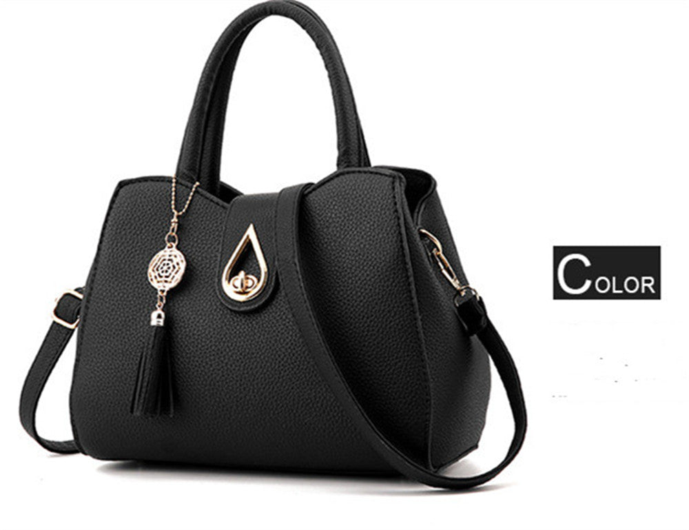 Female handbag trendy fashion female pu leather shoulder bag