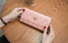 Load image into Gallery viewer, Women's Wallet Women's Long Style Multifunctional Crown Tri-fold Wallet High Quality  Wallet