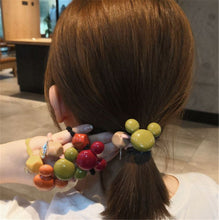 Load image into Gallery viewer, Mickey hair circle cute candy color rubber band net red ins head rope
