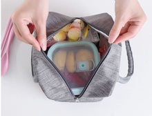 Load image into Gallery viewer, Cold warm insulation lunch box bag thickened aluminum foil waterproof