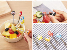 Load image into Gallery viewer, Stainless fruit fork Underwater World fruit sign home use small fork dessert fork