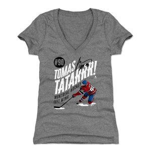 Tomas Tatar Women's V-Neck T-Shirt | 500 LEVEL