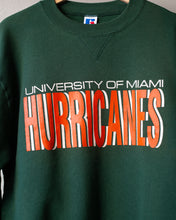 Load image into Gallery viewer, Vintage Russell Miami Hurricanes Crew Neck