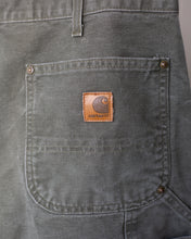 Load image into Gallery viewer, Vintage Green Carhartt Double Front Dungaree