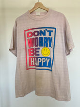 Load image into Gallery viewer, Vintage Don't Worry Be Happy Tee