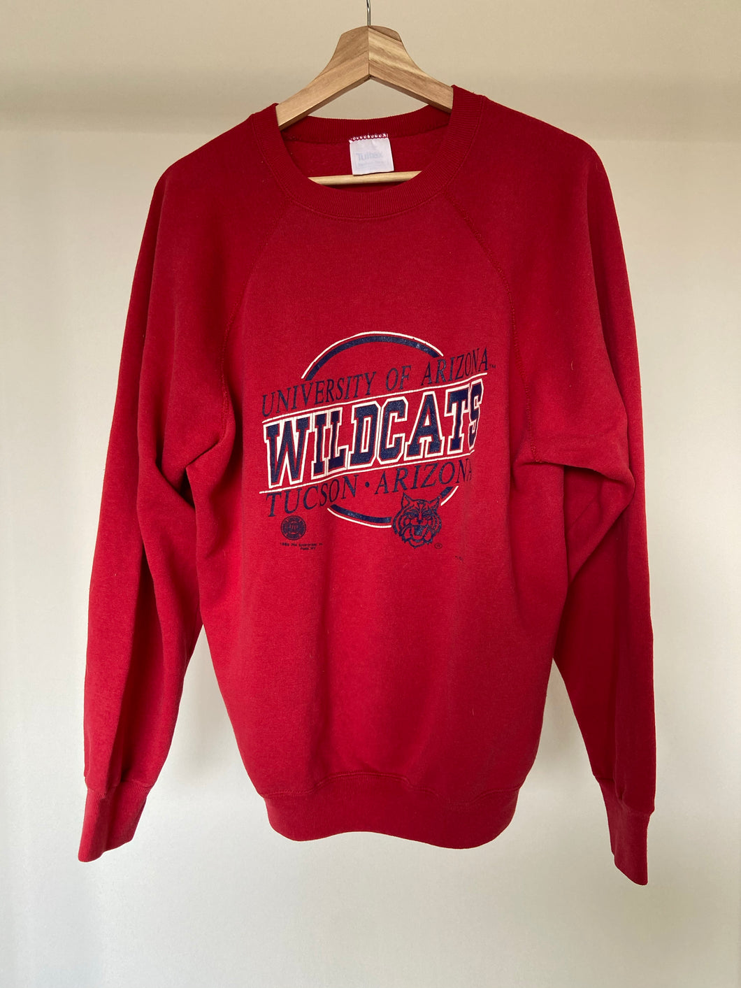 Vintage University of Arizona  Raglan Crew
