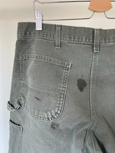 Load image into Gallery viewer, Vintage Green Carhartt Carpenter Pants (34X33.5)