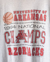 Load image into Gallery viewer, Vintage Thrashed University of Arkansas Tee