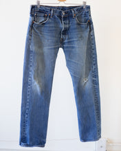 Load image into Gallery viewer, Vintage Distressed Levi's 501 (34X30)