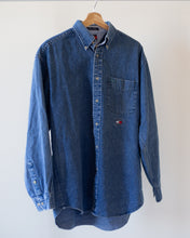 Load image into Gallery viewer, Vintage Denim Tommy Hilfiger Button Up