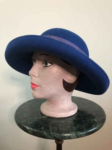 Hat Vintage Felt, Day or Casual Evening