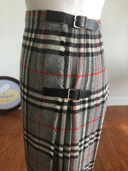 Vintage  Wool Kilt, Made in Great Britain
