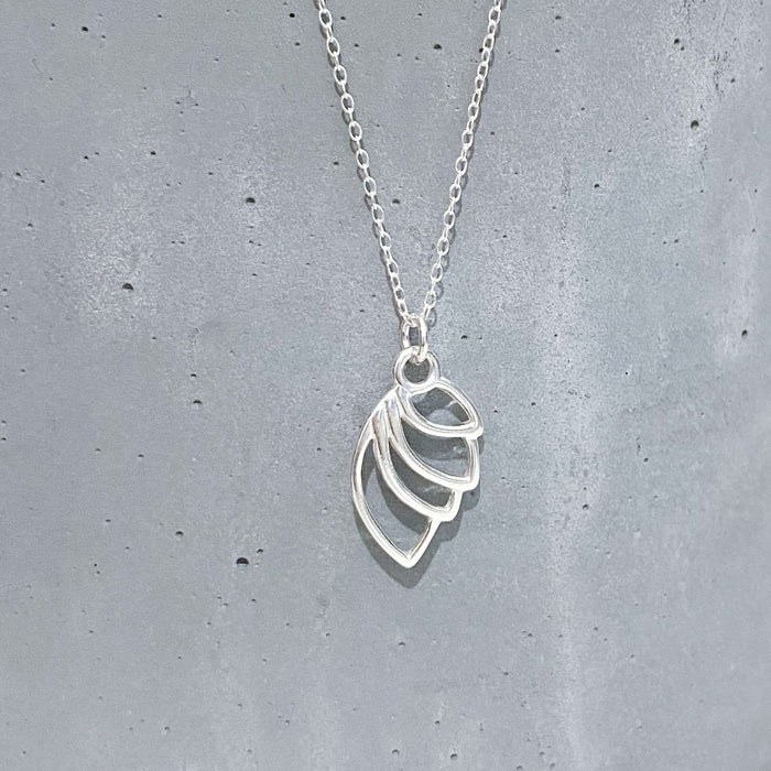 Angel Wing (Large) Charm Necklace
