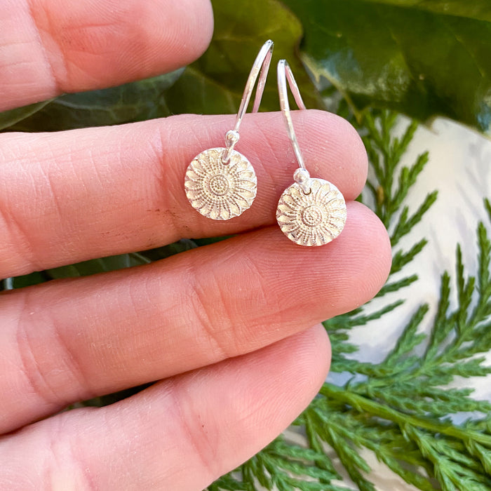 Mini Mandala Earrings
