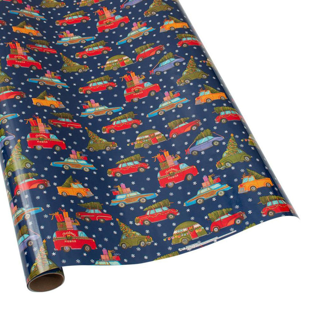 Christmas Rush Gift Wrapping Paper
