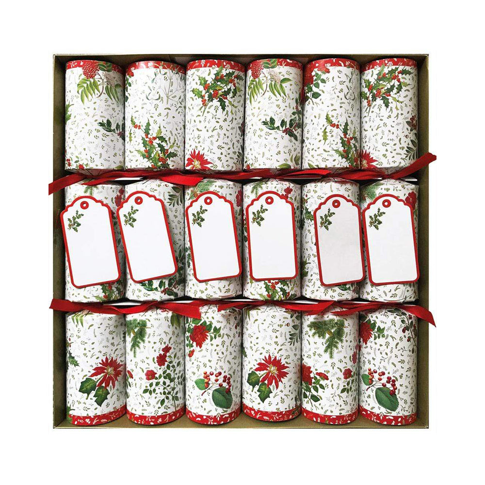 Load image into Gallery viewer, English Winter Garden Celebration Christmas Crackers