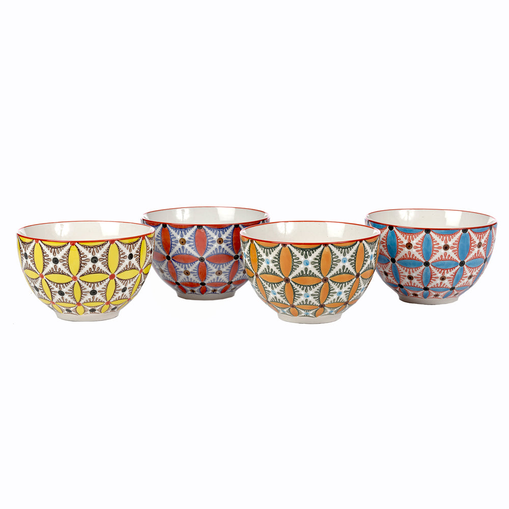 Hippy Snack Bowls (Set Of 4)