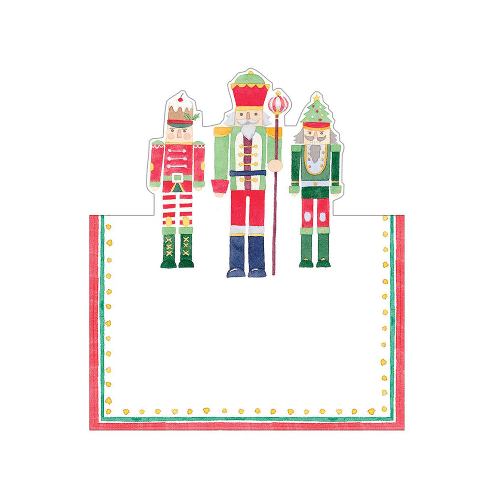 March Of The Nutcrackers Die-Cut Place Cards