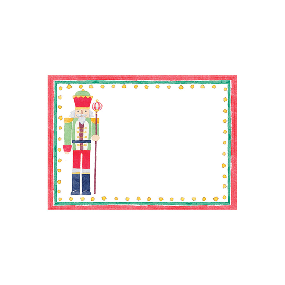 March Of The Nutcrackers Self-Adhesive Labels