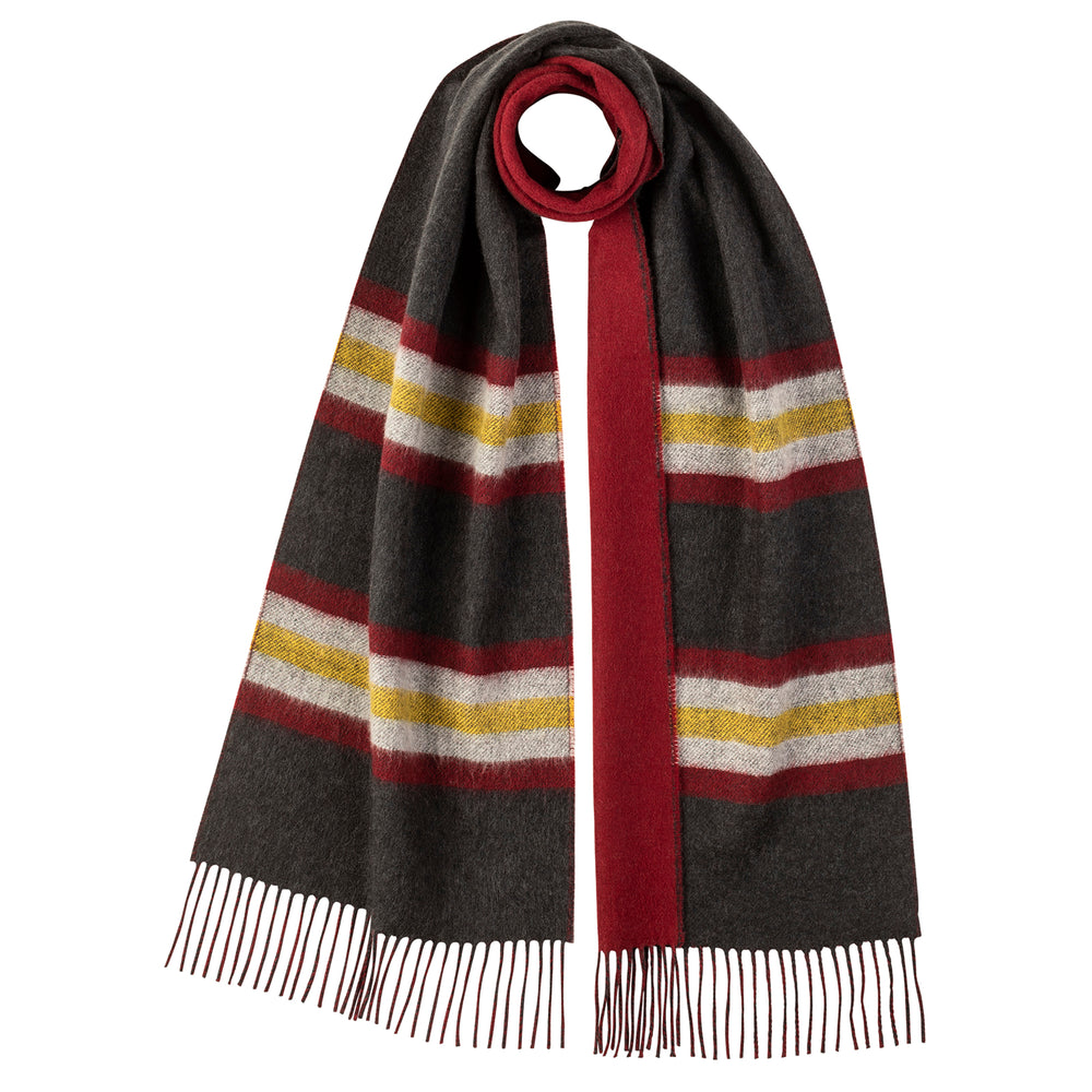Load image into Gallery viewer, Stripe Reversible Scarf