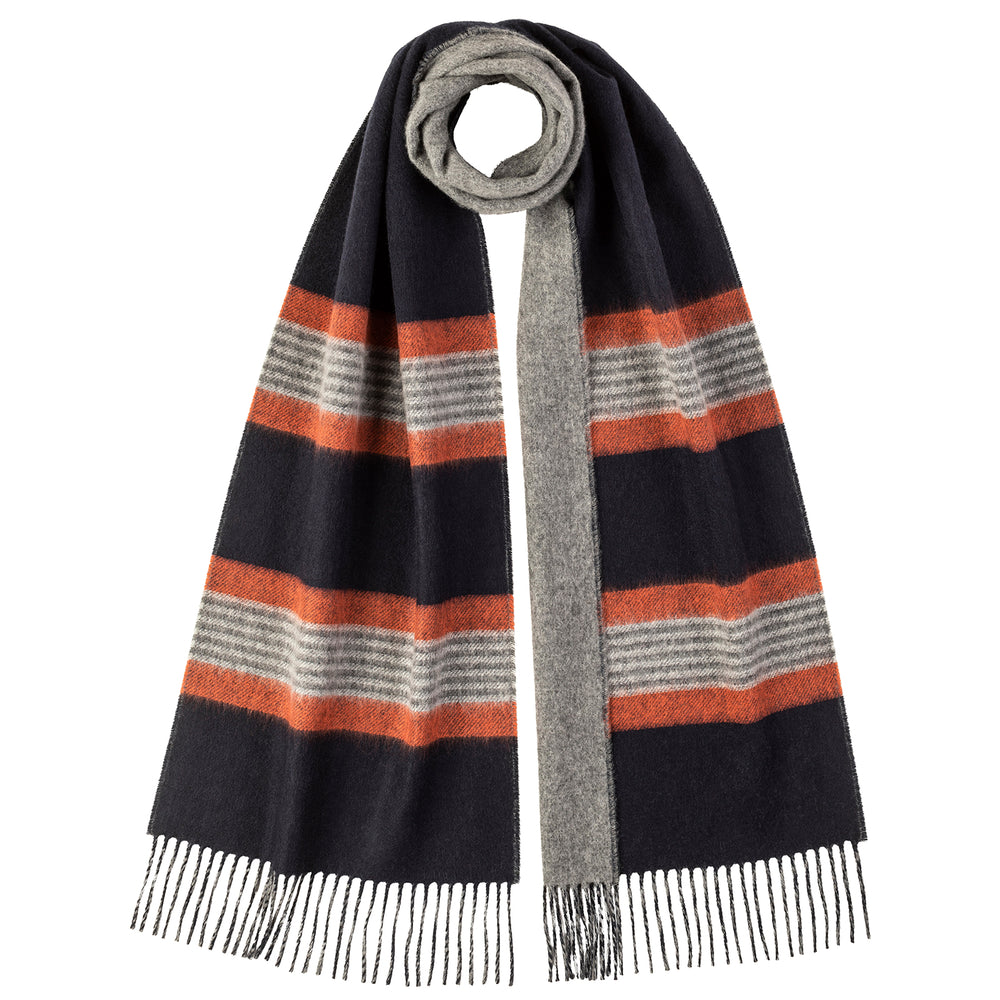 Stripe Reversible Scarf