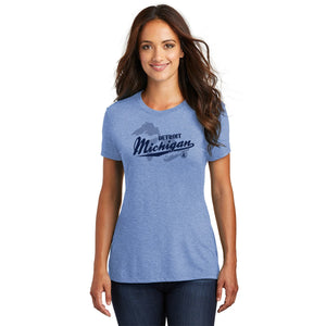 Made in Detroit Great Lakes Womens T-Shirt