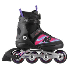 K2 Charm Boa ALU Girls Adjustable Inline Skates