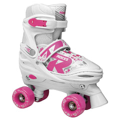 Roces Quaddy 2.0 Adjustable Girls Roller Skates