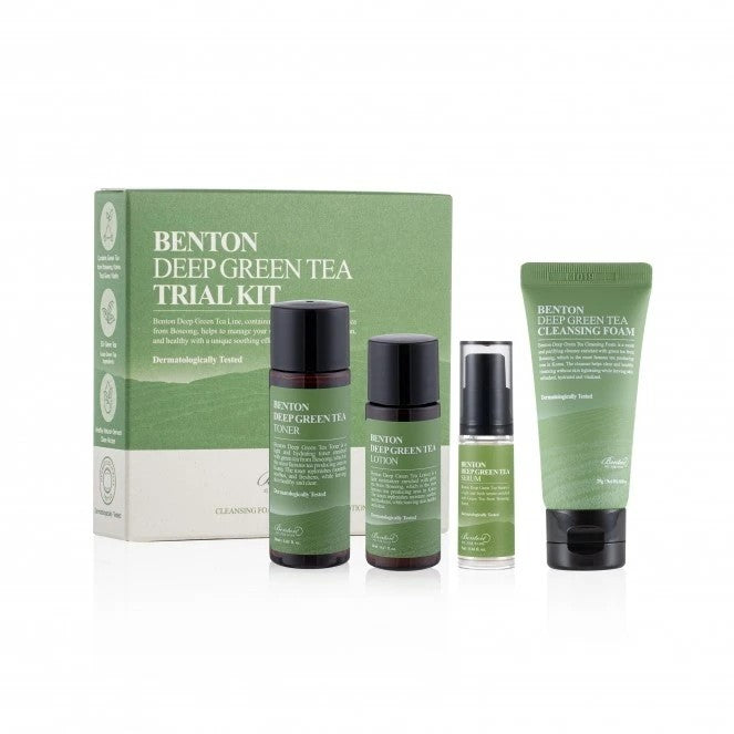 BENTON Deep Green Tea Trial Kit 4pzs
