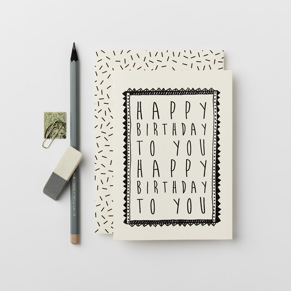 Katie Leamon Card Happy Birthday to You