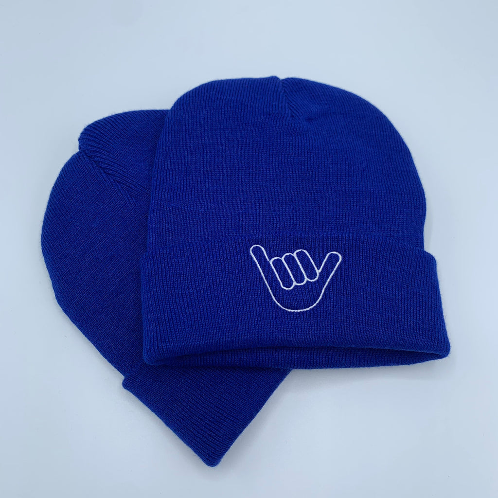 Shells Beanie Atlantic Blue Shaka