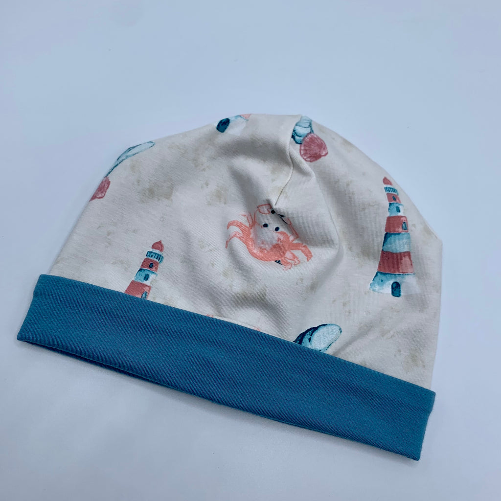 Little Scallywags Baby & Toddler Hat - Seaside Print