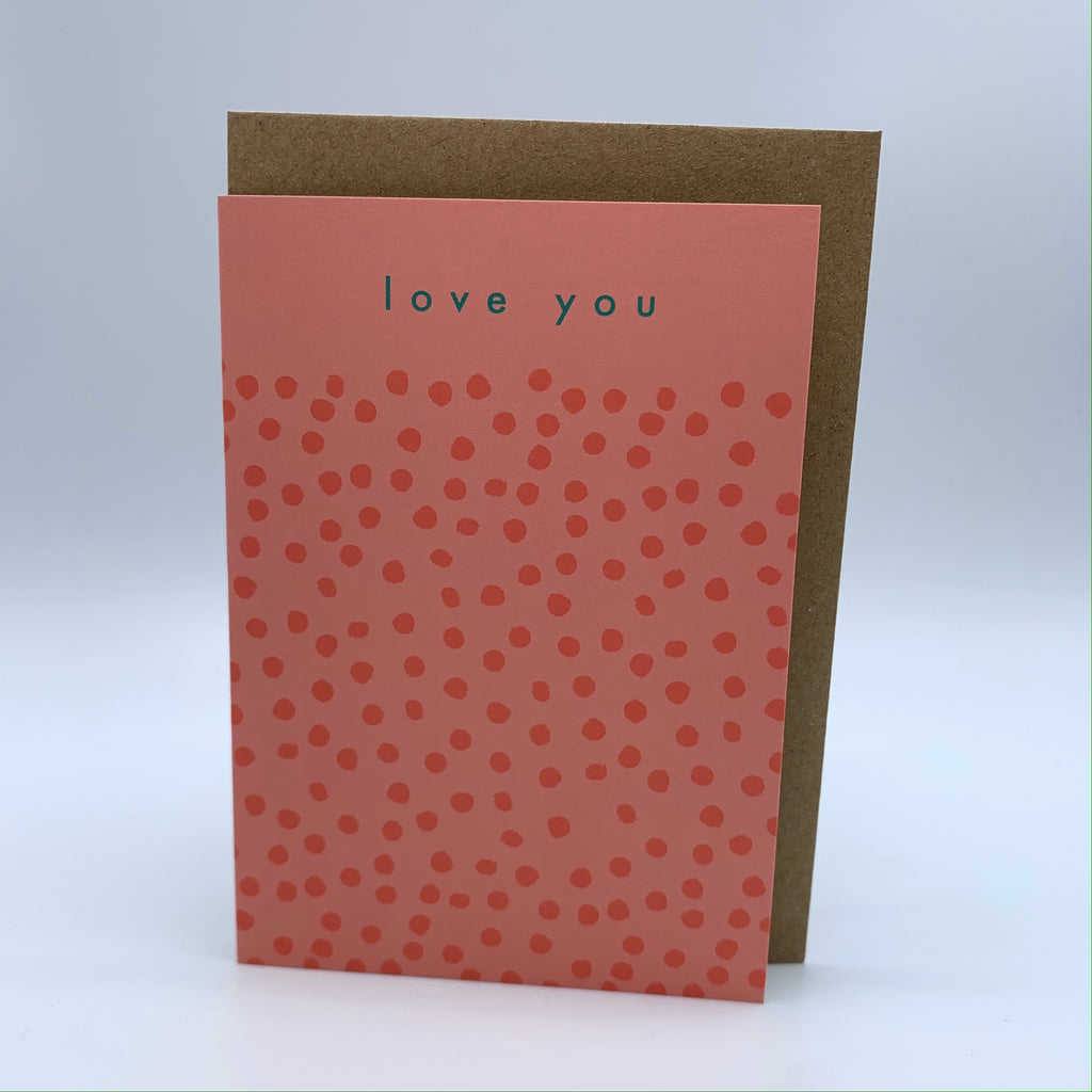 Love You Pink Card
