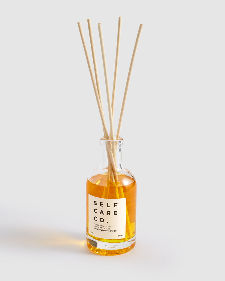 Self Care Co. Lavender + Orange Essential Oil Reed-Diffuser.