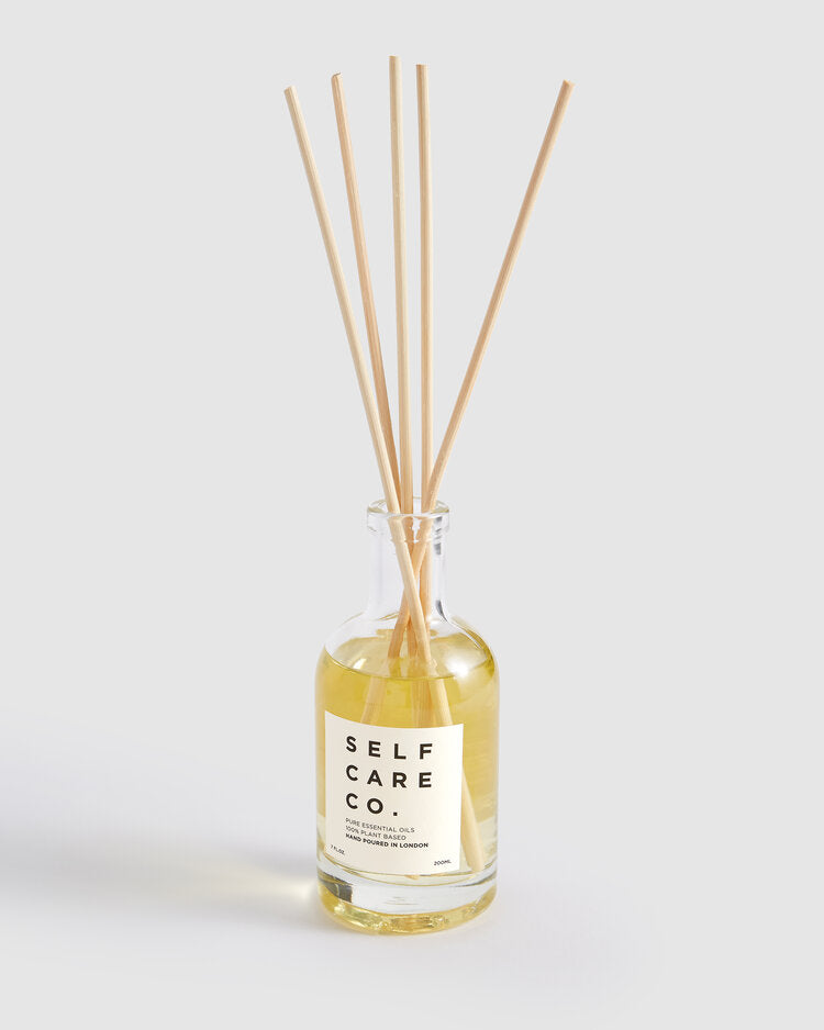 Self Care Co. May Chang + Rosemary Essential Oil Reed-Diffuser.
