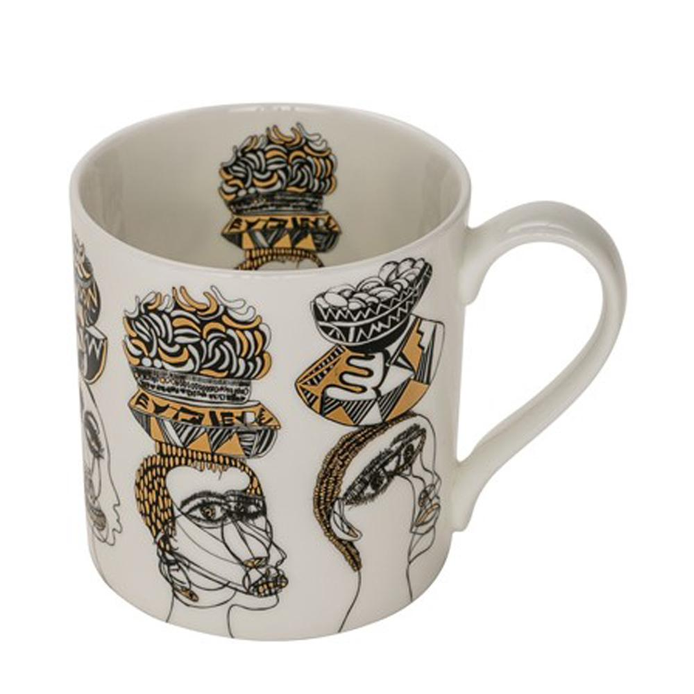 Arthouse Unlimited Figureheads China Mug