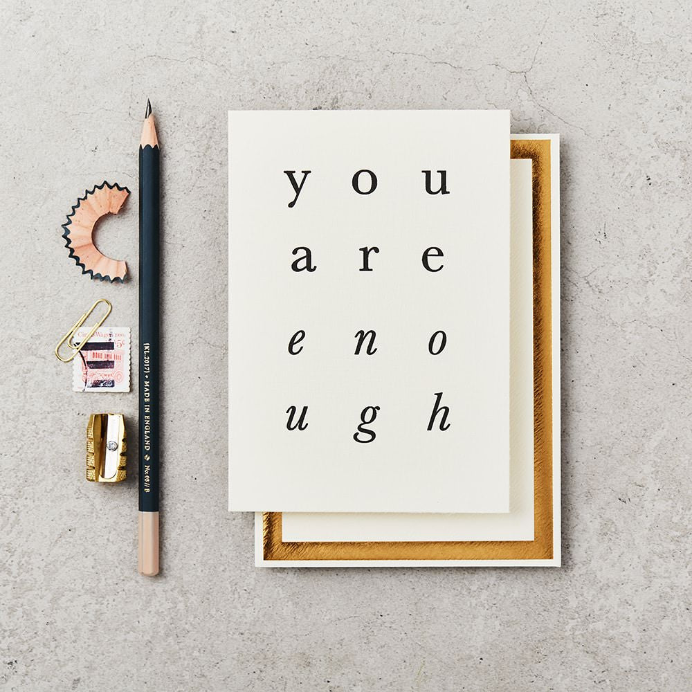 Katie Leamon Card you are enough