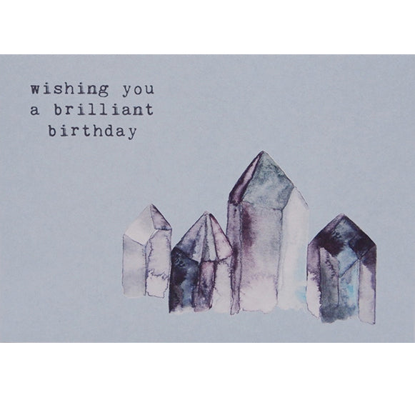 Anna Cosma Postcard wishing you a brilliant birthday