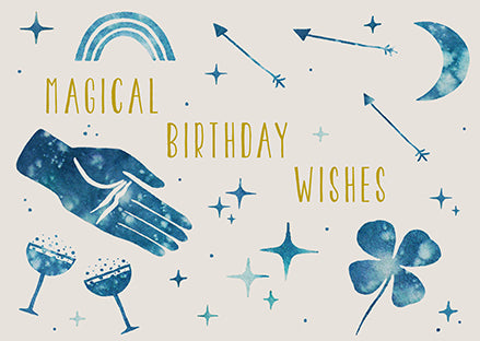Anna Cosma Postcard Magical Birthday Wishes
