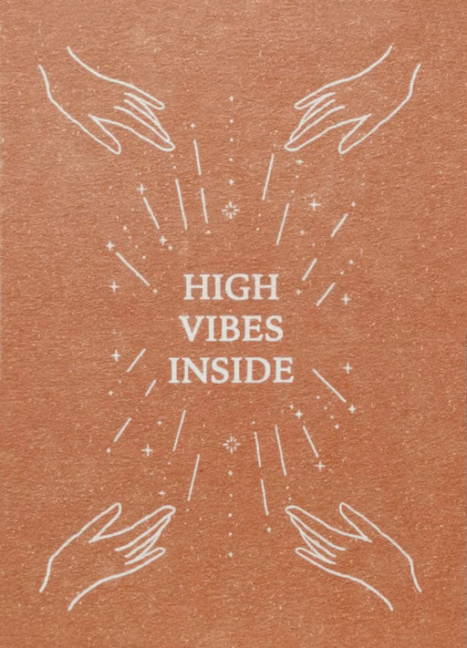 Anna Cosma Postcard High Vibes Inside