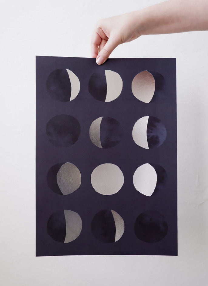 Anna Cosma Phases of the Moon