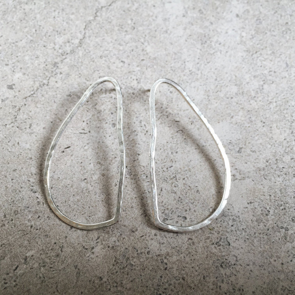Lines and Current 'Delilah' Oval Earrings