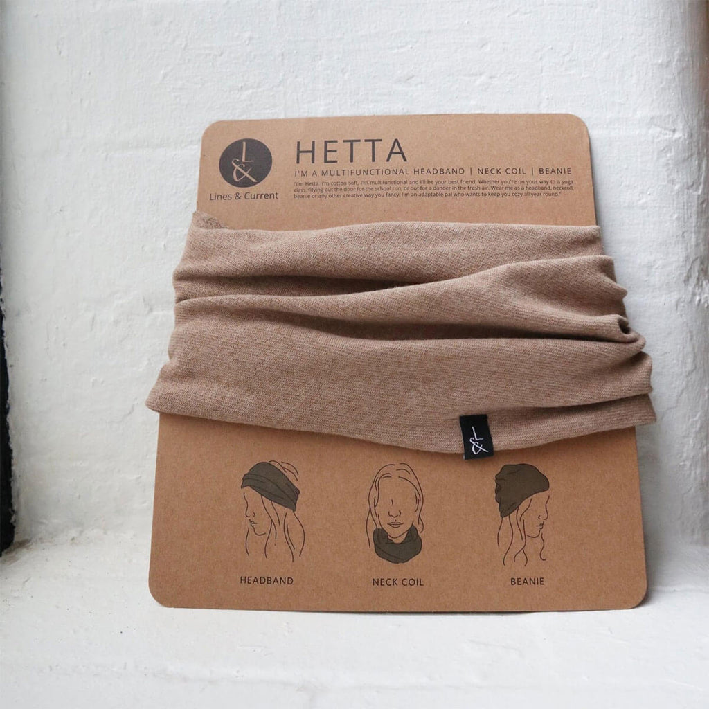 Lines and Current Hetta Multifunctional Beanie