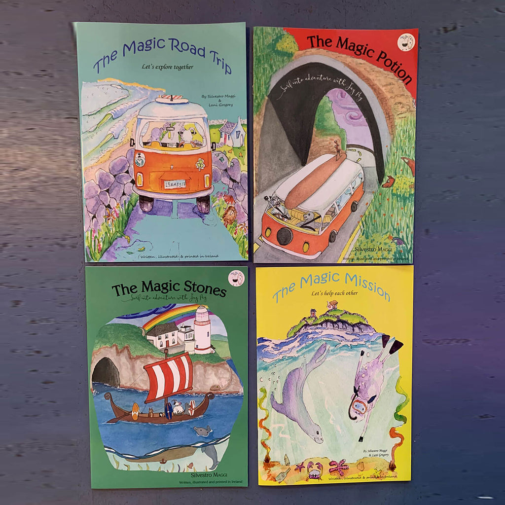 Jay Peg Children's Surf Adventure Books
