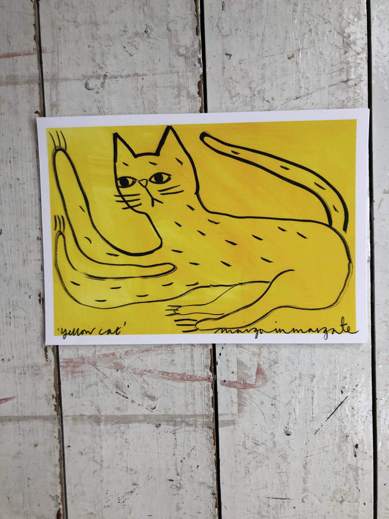 Margoinmargate Yellow Cat