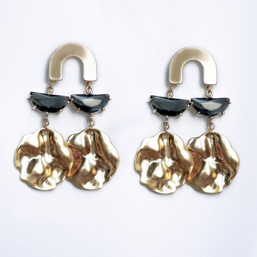 One Dame Lane MOLTEN ARC || EARRINGS