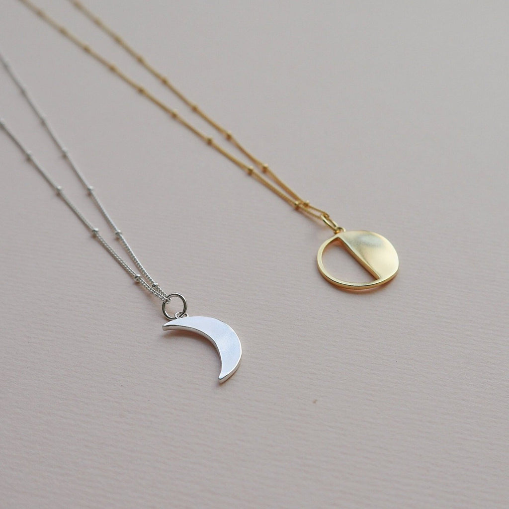 Lines & Current 'Moon' Sister Pendant