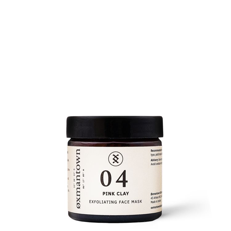 Oxman Town Exfoliating Face Mask Pink Clay