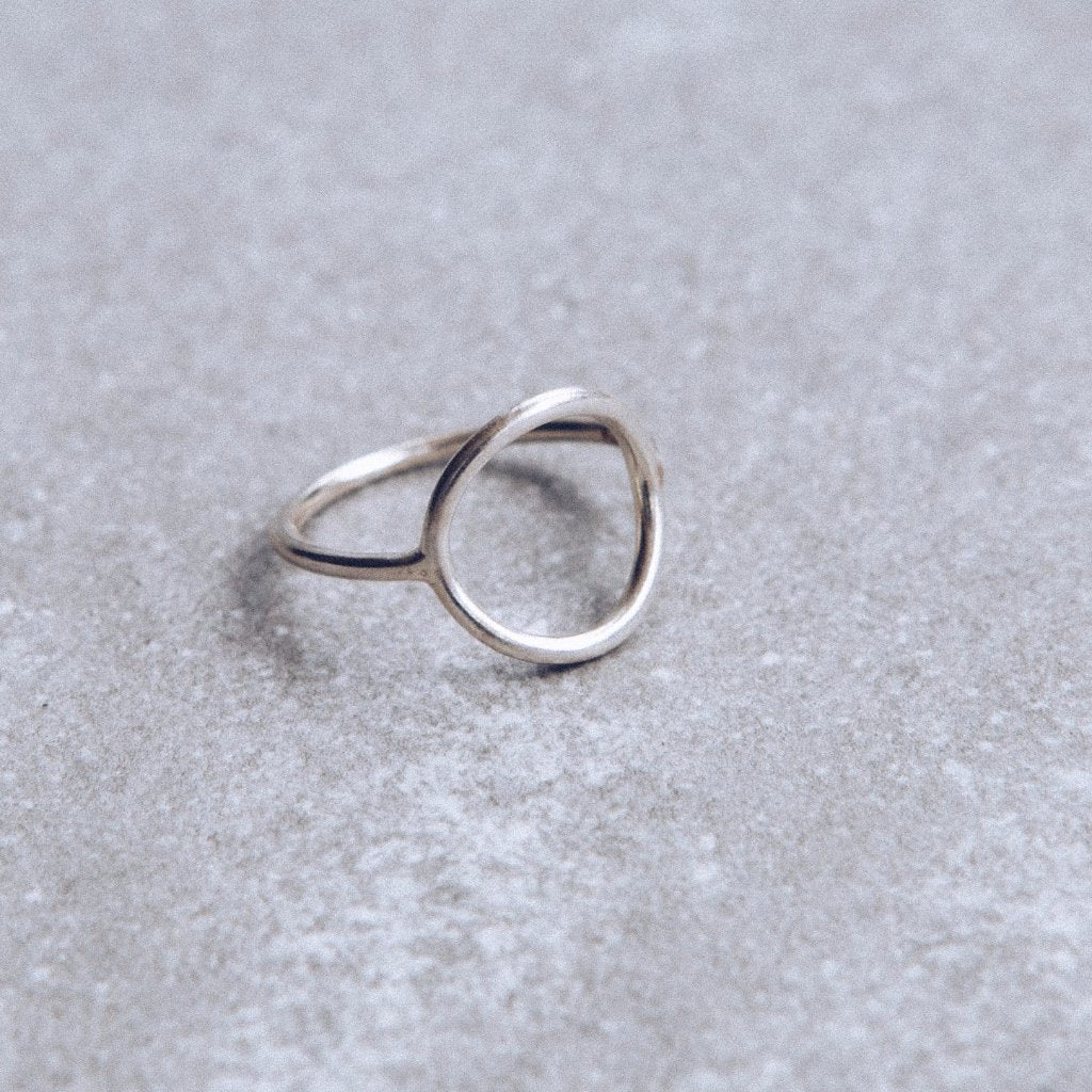 Lines & Current 'Oda' Open Circle Ring